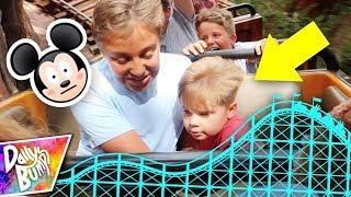 Terrifying Disneyland Roller Coaster Ride Reaction