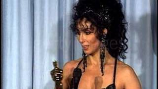 Cher at The Academy Awards Press Conference (1988)