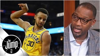 Tracy McGrady on Stephen Curry: 'How could he not be' MVP candidate?   The Jump