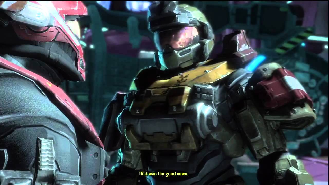 Halo: Reach - The Death of Jorge-052 HD - YouTube