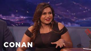 Mindy Kaling Loves McDonald's - CONAN on TBS