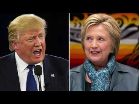 Donald Trump And Hillary Rodham Clinton First Date