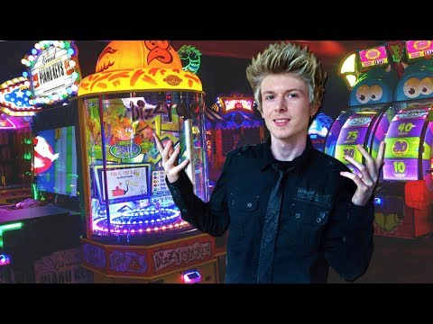 I played ALL of the games at the ARCADE!