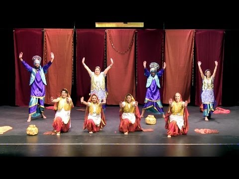 Bollywood bhangra and giddha - Rhythms of India - SGCS Diwali...