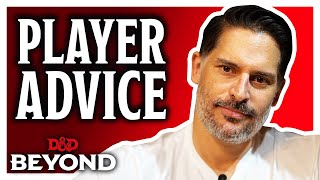 Joe Manganiello's tips for being a better D&D Player | D&D Beyond