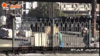 يقين | خبراء المفرقعات يفككون قنبلة هيكلية بميدان عبد المنعم رياض