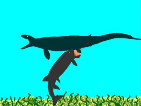 Xiphactinus vs megalodon