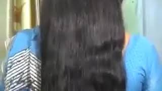 Hair styling for very long hairs after shampoo