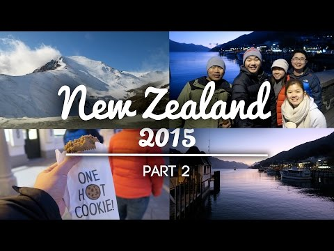 NEW ZEALAND TRAVEL VLOG 2015 | QUEENSTOWN [PART 2]