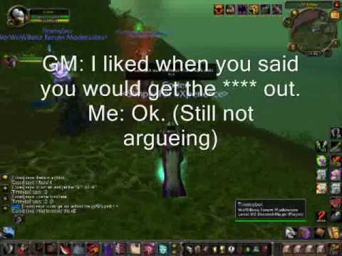 WoW Hack GM island = BAN !!! - YouTube