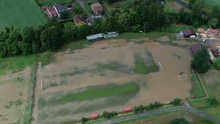 Watch: Floods worsen in central Europe