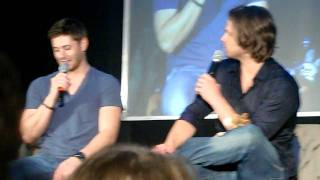 71- Jensen and Jared on improvising in 'Clap your hand if you believe'