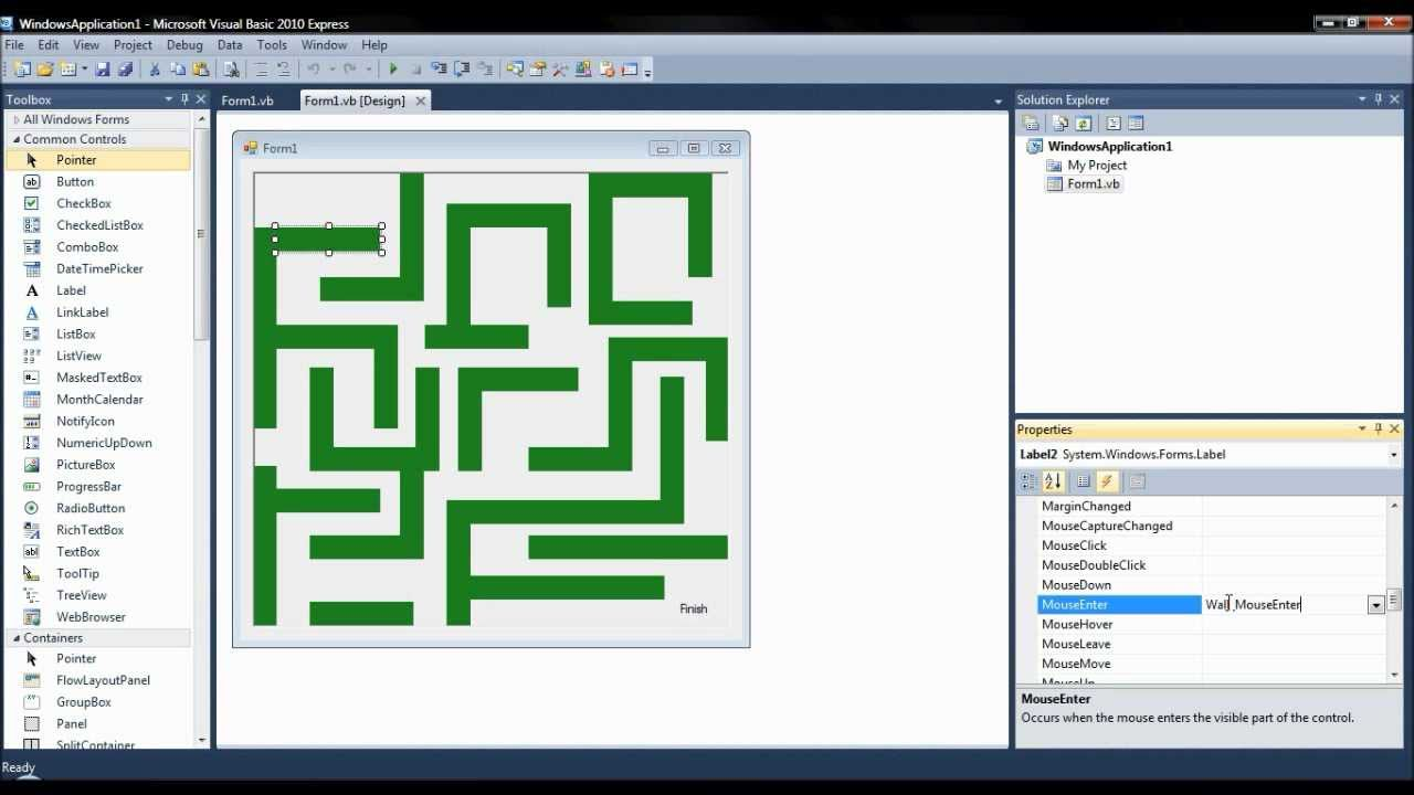 How to Make a Maze Game in