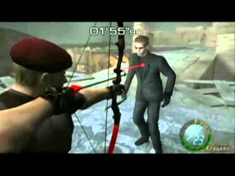 Krauser Vs Wesker Resident Evil 4 HD