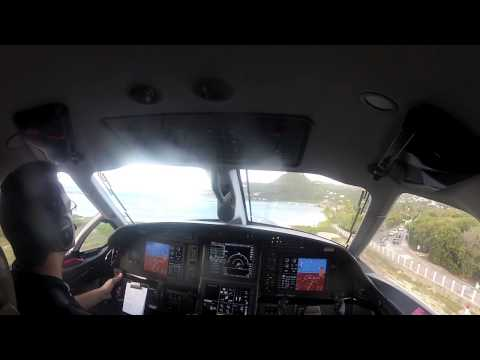 Pilatus Pc12 Landing And Takeoff St Barth, Landing St Maarten