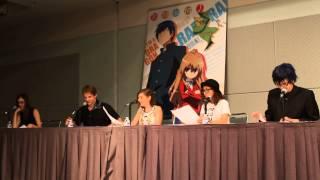 TORADORA live reading - Anime Expo 2014