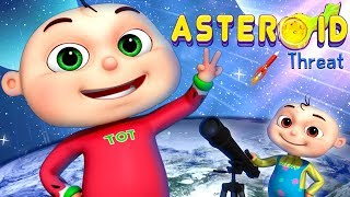 Zool Babies Series - Asteroid Threat | Cartoon Animation For Children | Videogyan Kids Shows