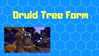 Where to get Tree Form in World of Warcraft Druid Treant