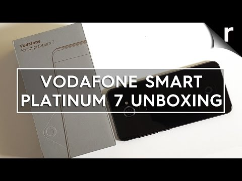 Vodafone Smart Platinum 7: Unboxing & hands-on review