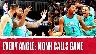 Every Angle Of Malik Monk's Buzzer Beater | Nov. 15, 2019