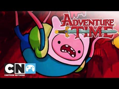 Время приключений | Путешествие в Темносферу (геймплей) | Cartoon Network