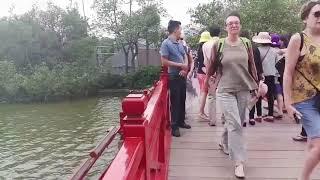 NGUYEN THI THUY NGA  K42 NNTQ  Tieng Trung Du Lich 14 10 2018