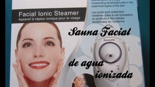 Review Sauna Facial Iónica Panasonic
