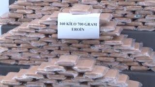 Adana'da 160 Kilo 700 Gram Eroin Ele Geçirildi