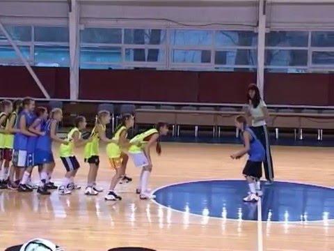 Подвижные игры с элементами игры в баскетбол