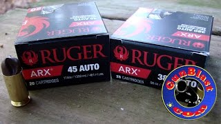 Ruger's NEW ARX Self-Defense Pistol Ammunition - Gunblast.com