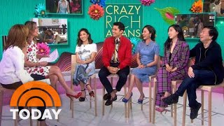 'Crazy Rich Asians' Cast On The Film's Impact On Representation In Hollywood | TODAY