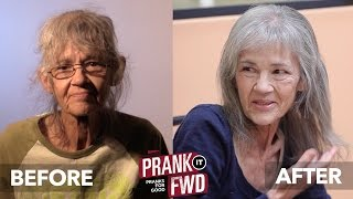 Homeless Day Spa Surprise! - Prank It FWD