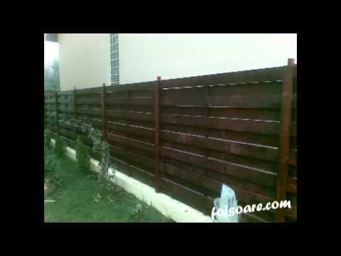 Garduri din lemn