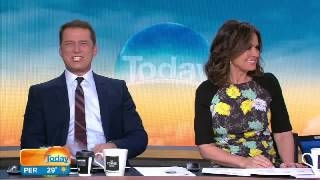 Sports presenter Yvonne fooled by Karl Stefanovic