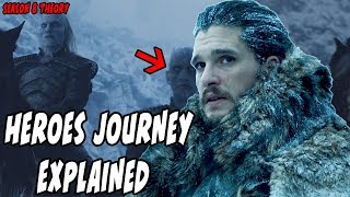 Jon Snow 'Heroes Journey' Theory EXPLAINED! Game Of Thrones Season 8