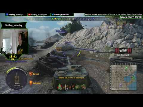 World of Tanks Xbox 1-Object 268 6 kills 7k damage