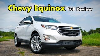 2019 Chevy Equinox: FULL REVIEW + DRIVE | Chevy Ups the Tech for 2019