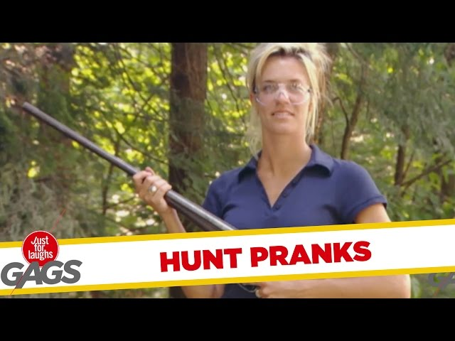Best Hunt Pranks - Best of Just For Laughs Gags