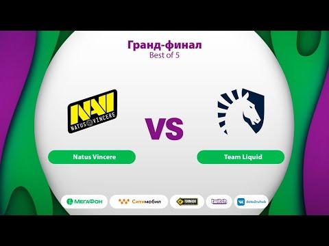 Natus Vincere vs Team Liquid, MegaFon Winter Clash, bo5, game 1 [Maelsorm & NS]