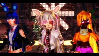 Mangle, Toy Chica, & Toy Bonnie FNaF 2~ 【Girl Gone Wild】 MMD x FNAF