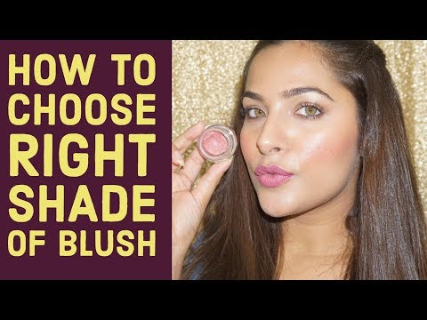 How to choose RIGHT shade of BLUSH   Beginners Makeup Tips & Tricks    Urban Panache