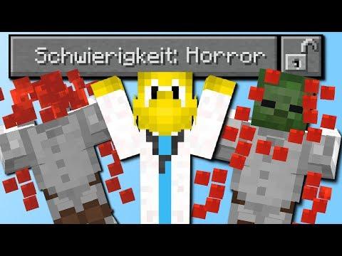 Schwierigkeit: Horror! (Neue Schwierigkeit in Minecraft)