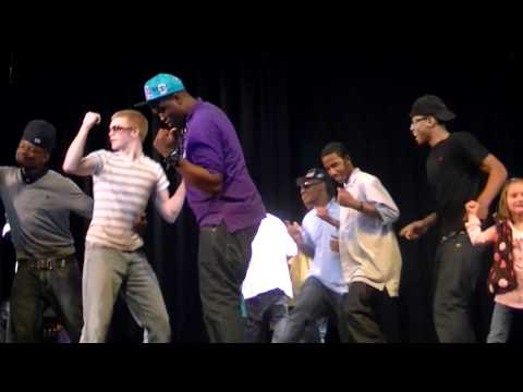 Dolo Performing The Dolo Dance at Lloyd C Bird High School in Richmond, Virginia