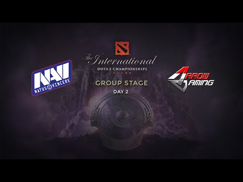 Na`Vi.us -vs- Arrow, The International 4, Group Stage, Day 2