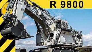 Extreme Machines: Liebherr R 9800 Excavator - 800t Monster Machine - [FULL HD - EN] - Bauforum24