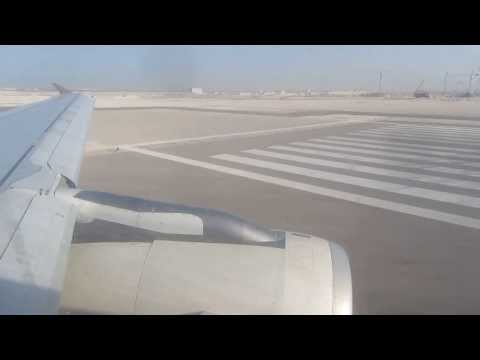 Etihad Airways A319 Takeoff from Abu Dhabi, 4th November 2013