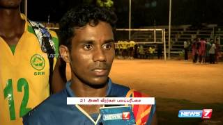 "Chennai District ""B"" Division Volleyball League Underway 