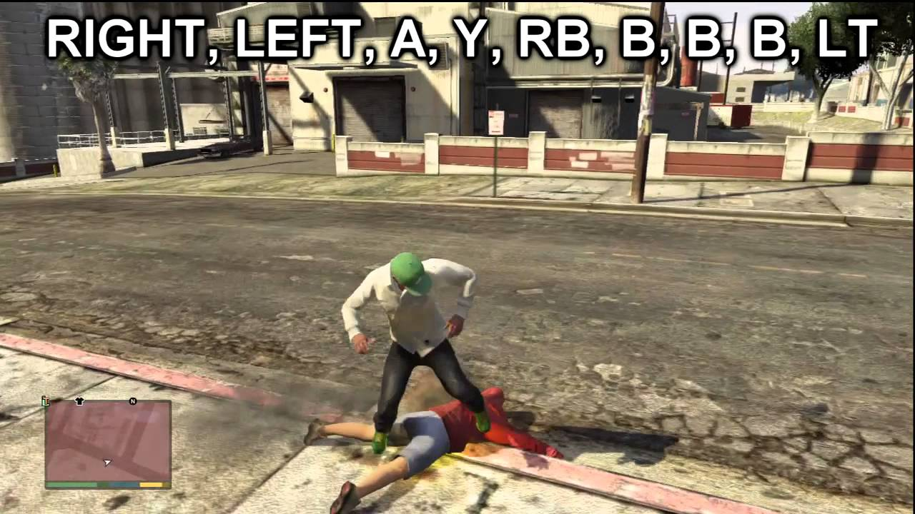 GTA 5: Exploding Melee Cheat! (HOW TO GET EXPLODING FIST) - YouTube