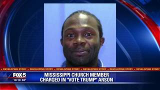 Did Jewish SPLC's Long Fake News List Fake Trump Hate Crimes Encourage McClinton To Burn MS Church?