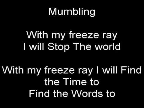 freeze ray (laundry day)